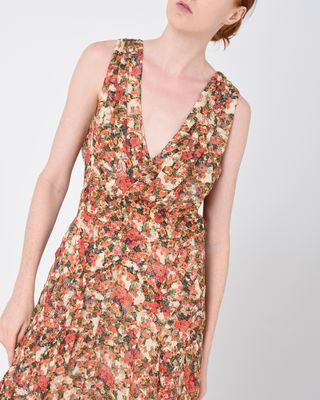 ISABEL MARANT LONG DRESS D FLESSY long floral dress r