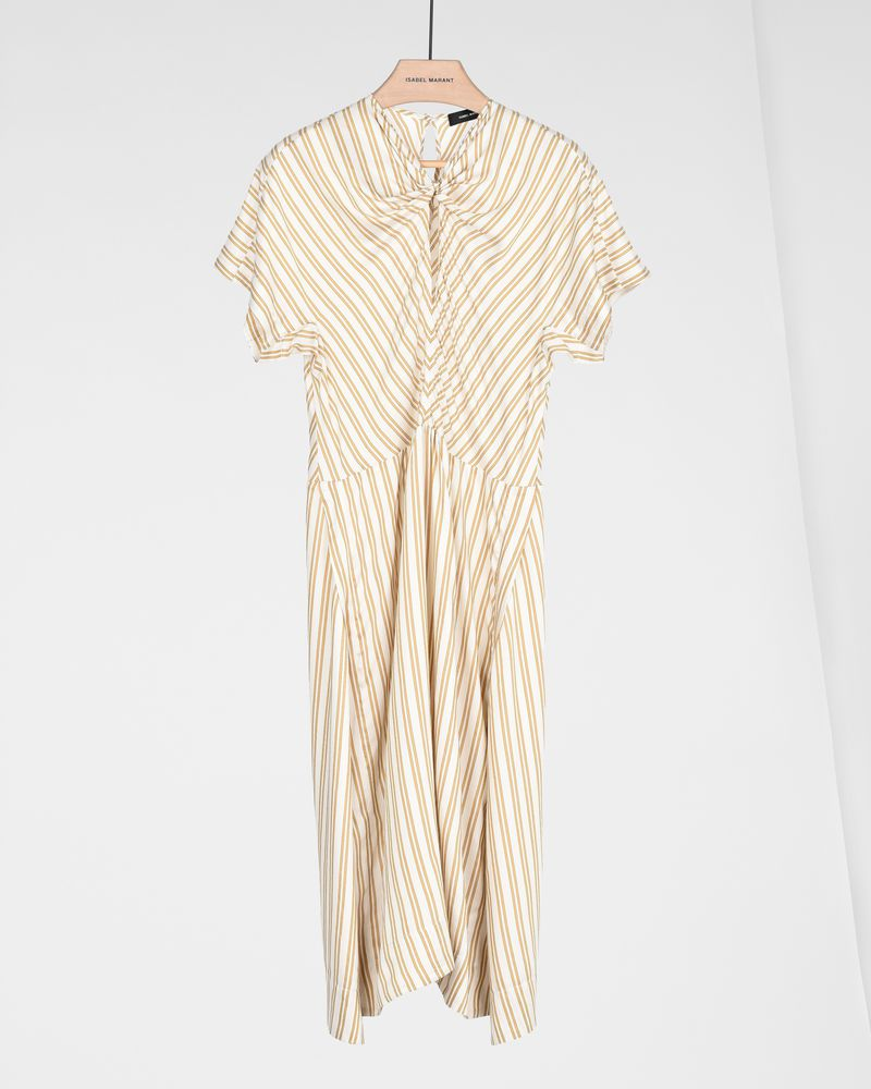 IRIS striped dress ISABEL MARANT
