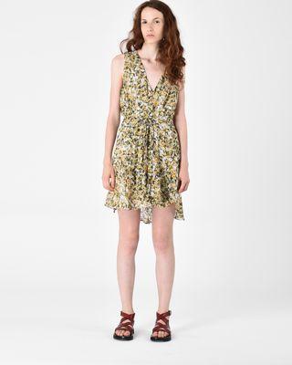 FARA short floral dress