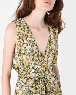 ISABEL MARANT SHORT DRESS D FARA short floral dress r