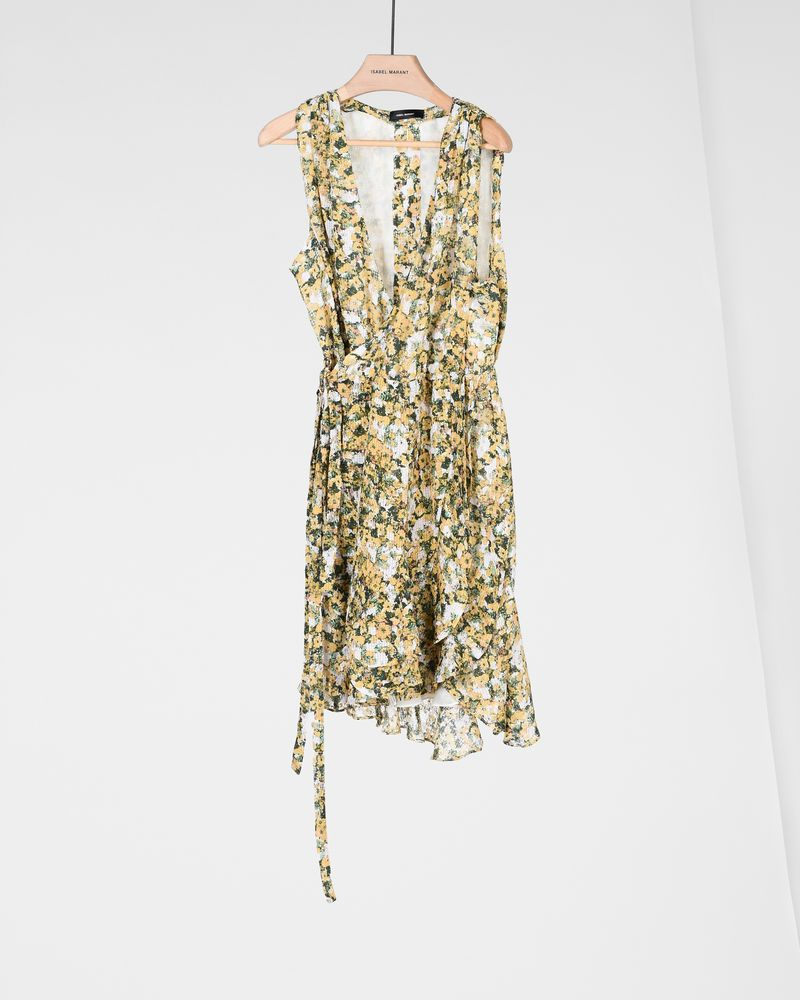 FARA short floral dress ISABEL MARANT