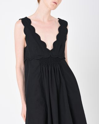 ISABEL MARANT SHORT DRESS D WILBY cotton dress r