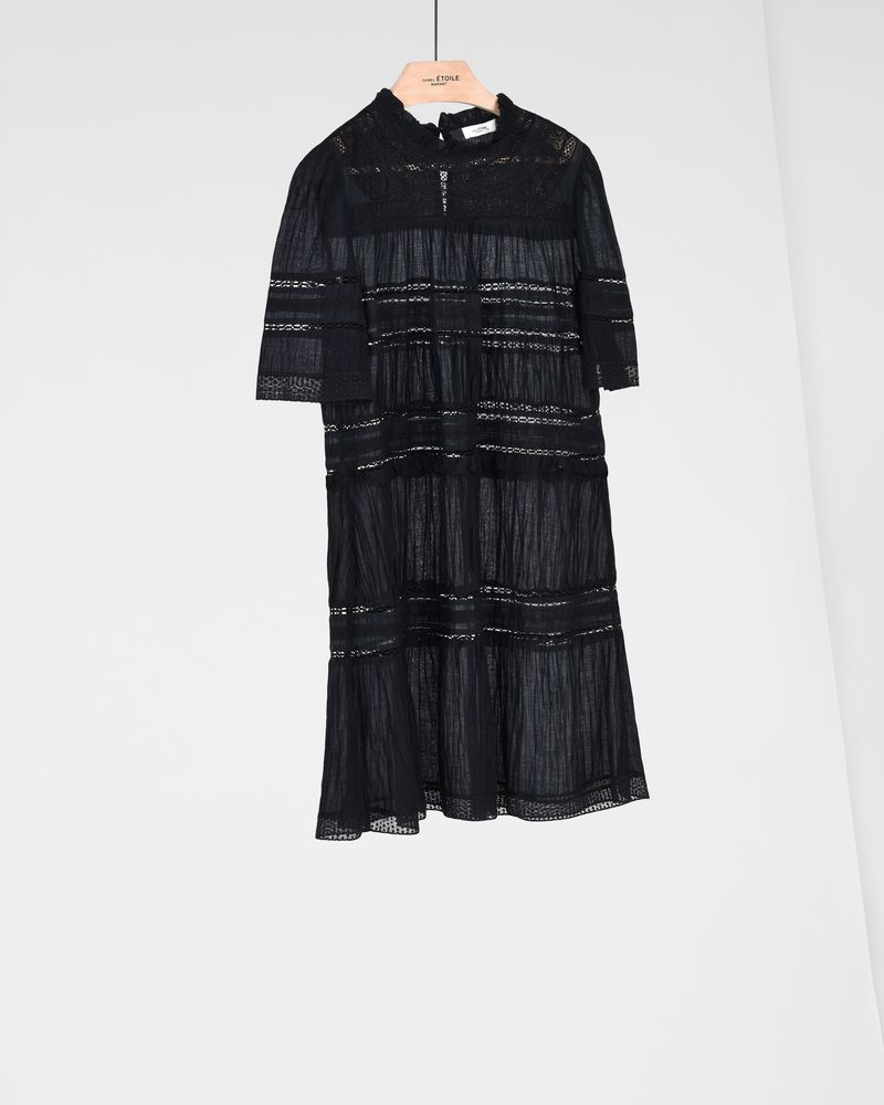 VICKY embroidered short dress ISABEL MARANT ÉTOILE
