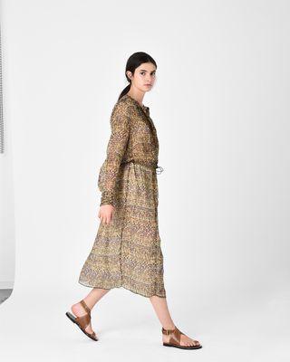 ISABEL MARANT ÉTOILE LONG DRESS D BAPHIR tunic dress r