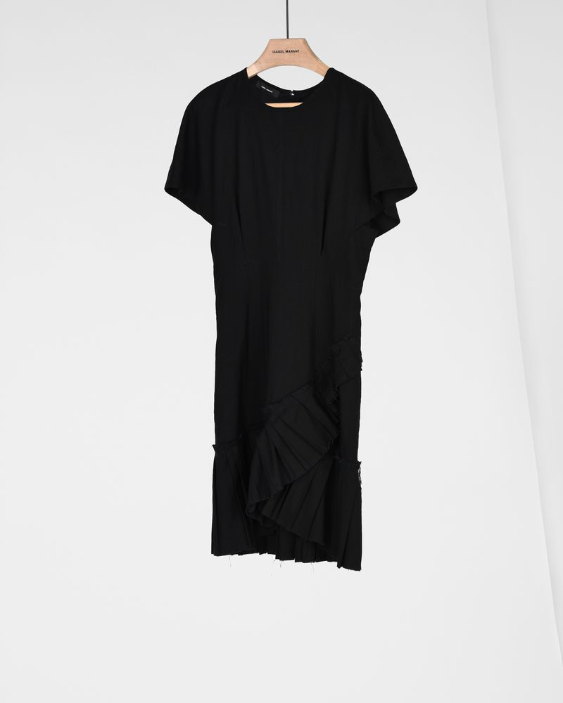 RIMBA dress in stretch linen ISABEL MARANT