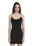 ALEXANDER WANG TAILORED MINI DRESS WITH  BARTACK DETAIL 短款连衣裙 Adult 8_n_a