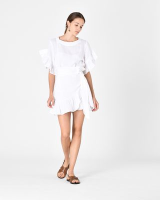 DELICIA ruffle dress