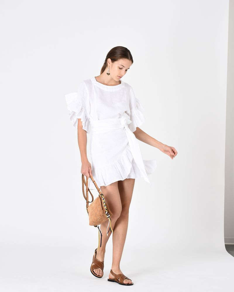 DELICIA ruffle dress ISABEL MARANT ÉTOILE