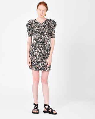 BRIZIA floral dress