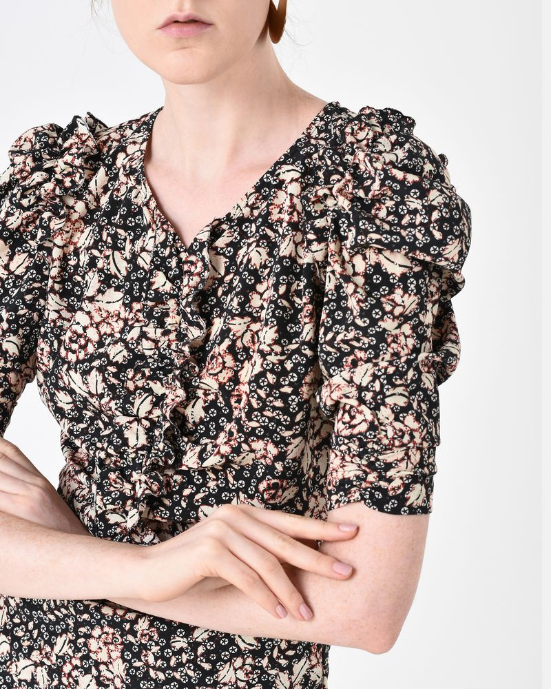 BRIZIA floral dress ISABEL MARANT