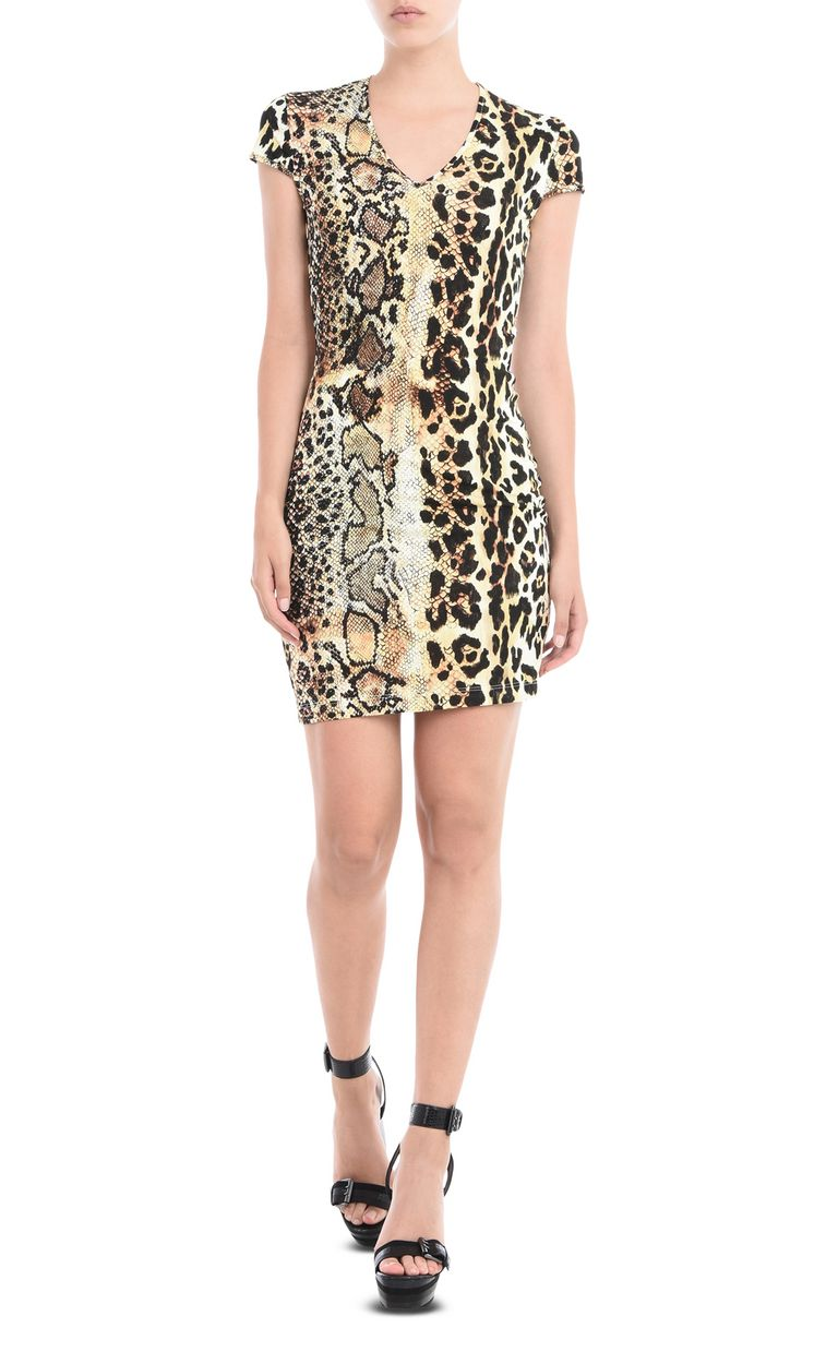JUST CAVALLI Short V neck dress Short dress D f