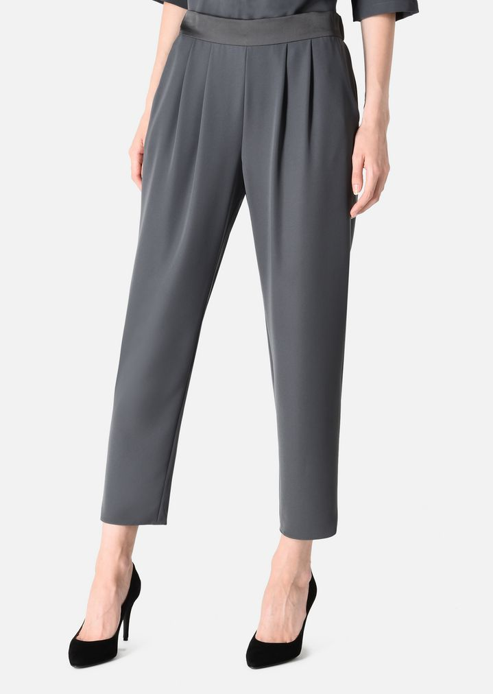 e80bd644d902 ... TWO-PIECE JUMPSUIT WITH BLOUSE AND TROUSERS. ARMANI COLLEZIONI