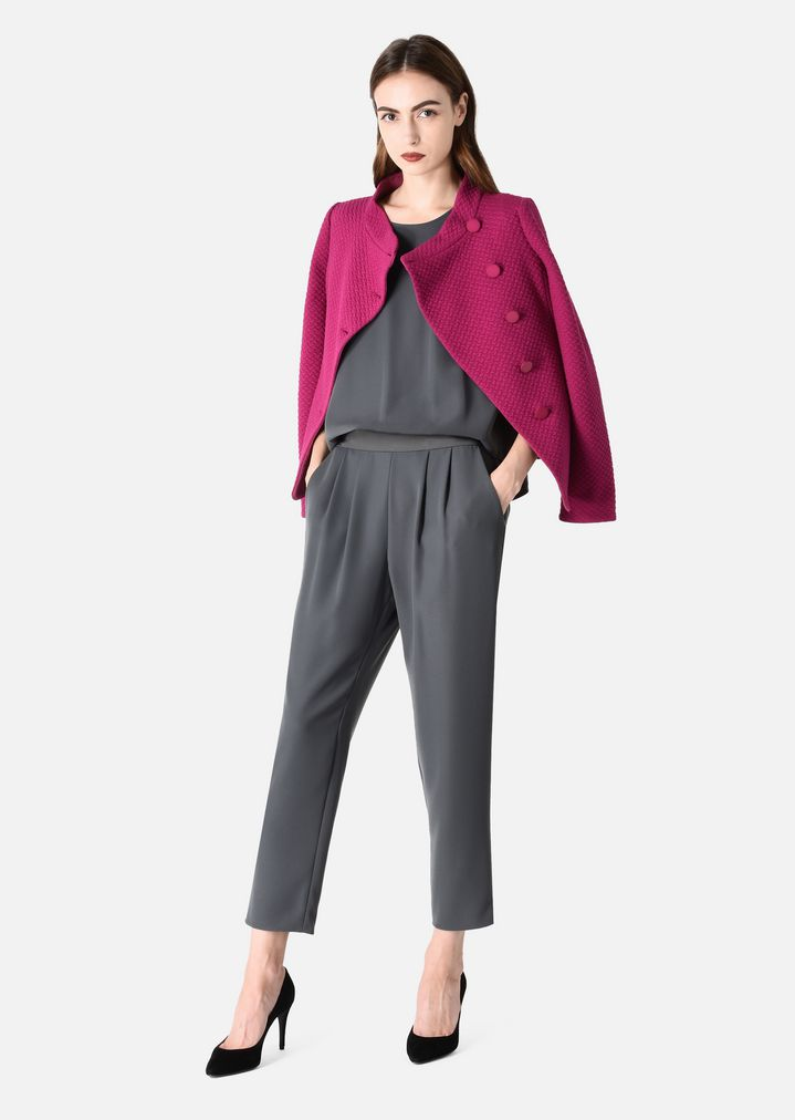 c48b87f33436 TWO-PIECE JUMPSUIT WITH BLOUSE AND TROUSERS