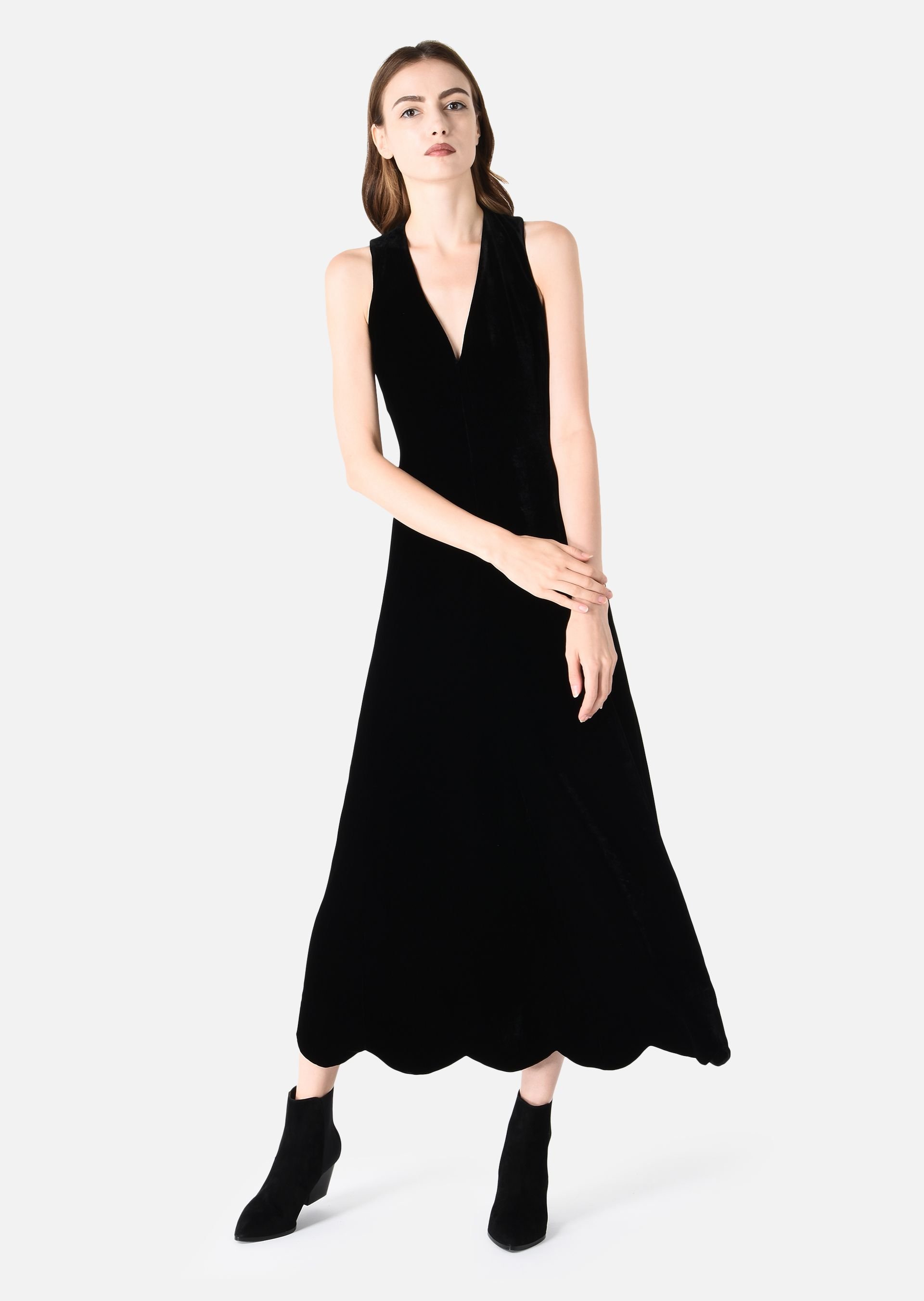 Long Sleeveless Dress