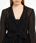 KARL LAGERFELD Ikonik Silk Maxi Trench Dress 8_e