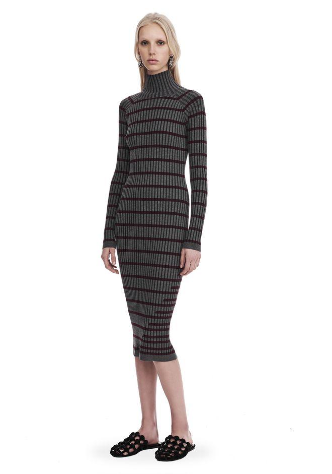 T by ALEXANDER WANG knitwear-t-by-alexander-wang-woman LONG SLEEVE TURTLENECK DRESS