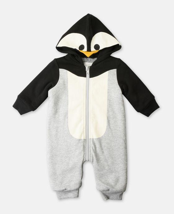 ルーファス ペンギン プリント ベビーグロー