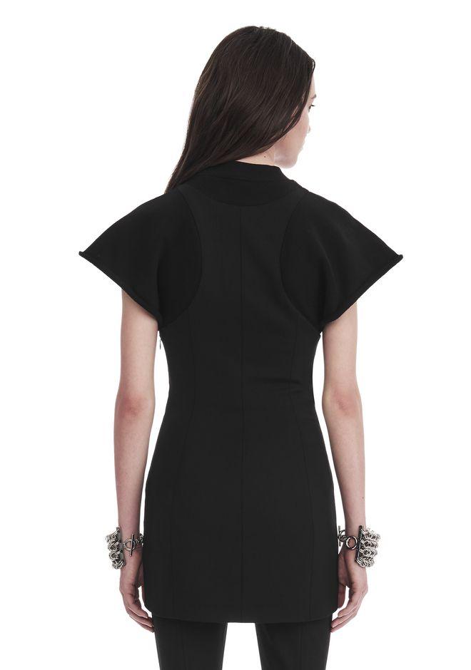 ALEXANDER WANG HYBRID SWEATSHIRT MINI DRESS 短款连衣裙 Adult 12_n_d