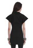 ALEXANDER WANG HYBRID SWEATSHIRT MINI DRESS 短款连衣裙 Adult 8_n_d