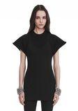 ALEXANDER WANG HYBRID SWEATSHIRT MINI DRESS 短款连衣裙 Adult 8_n_e