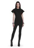 ALEXANDER WANG HYBRID SWEATSHIRT MINI DRESS 短款连衣裙 Adult 8_n_f
