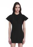 ALEXANDER WANG HYBRID SWEATSHIRT MINI DRESS 短款连衣裙 Adult 8_n_r