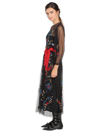 REDValentino NR0VA5L01GK 0NO Embroidered dress Woman d