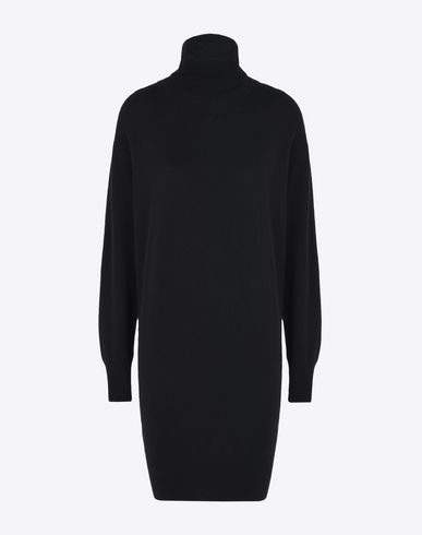 MAISON MARGIELA Turtleneck sweater dress Minidress D f