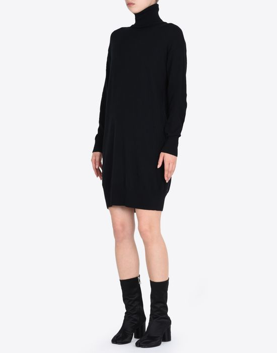 MAISON MARGIELA タートルネック セータードレス ミニドレス D r