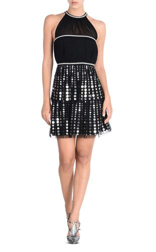 JUST CAVALLI Short dress Woman Elegant dress with small sequins f