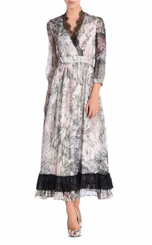 JUST CAVALLI Long dress D Long dress in New World print f