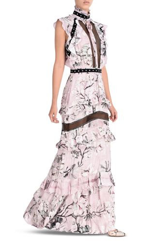 JUST CAVALLI Long dress D Long dress in Chain Reaction print r