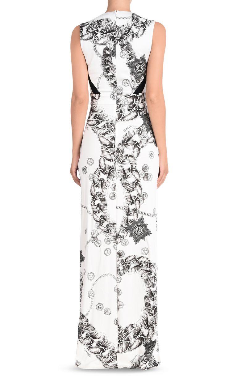 JUST CAVALLI Long dress in Chain Reaction print Long dress [*** pickupInStoreShipping_info ***] d