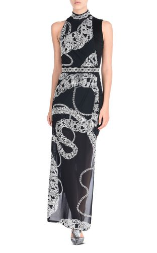 JUST CAVALLI Abito Donna Abito lungo Chain Reaction Print f