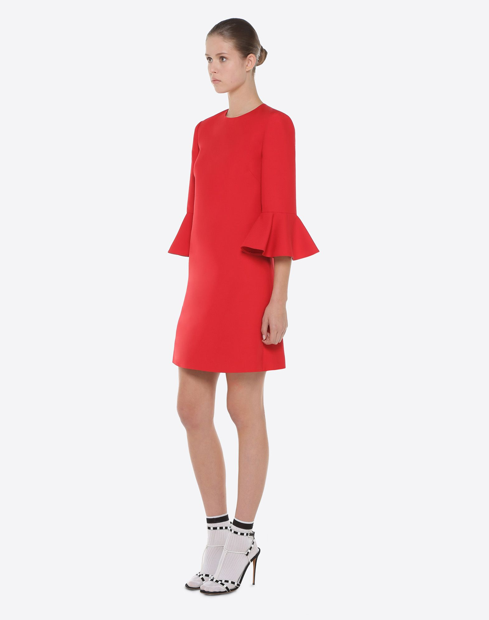 VALENTINO Crepe Couture dress Dress D d