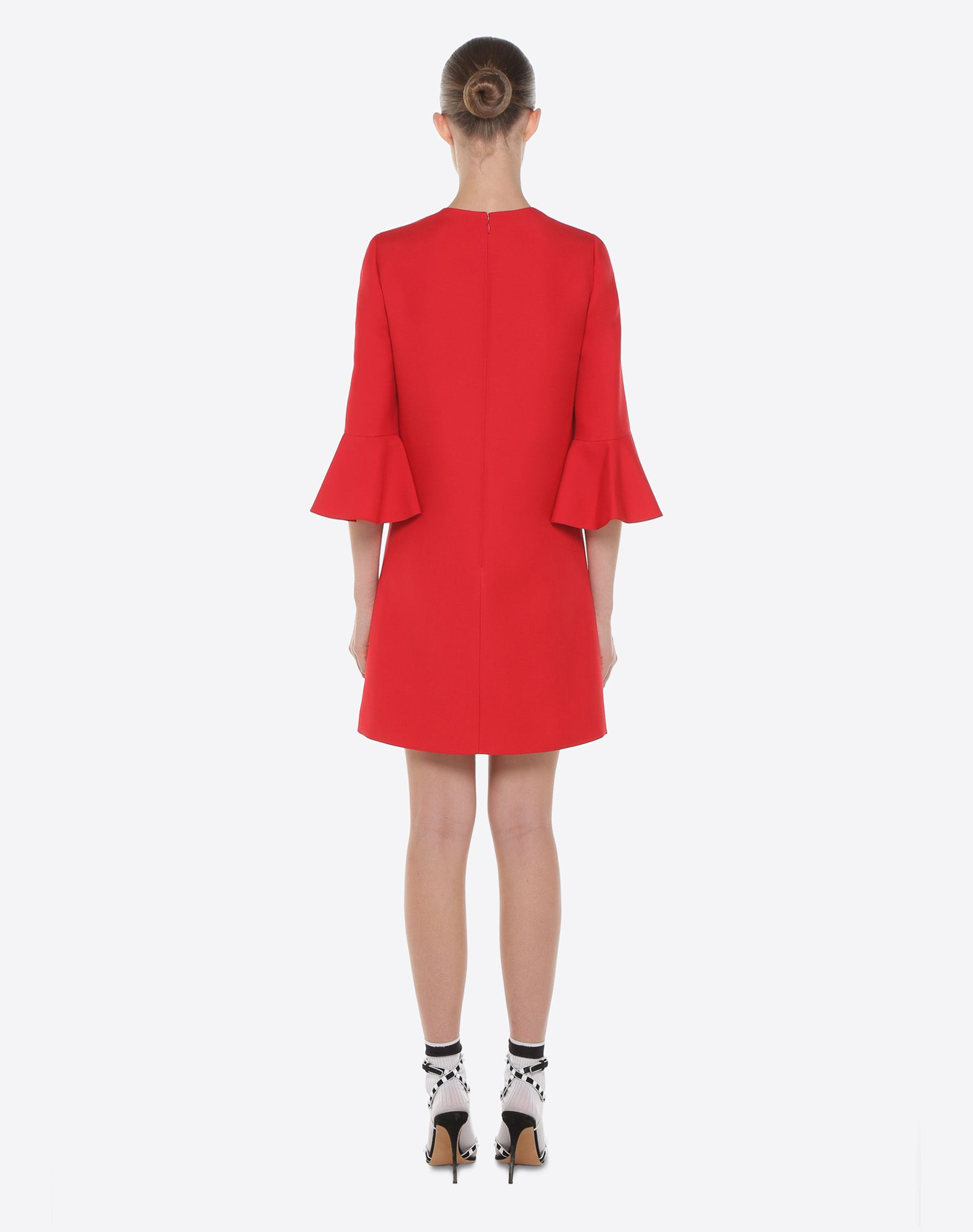 VALENTINO Crepe Couture dress Dress D e