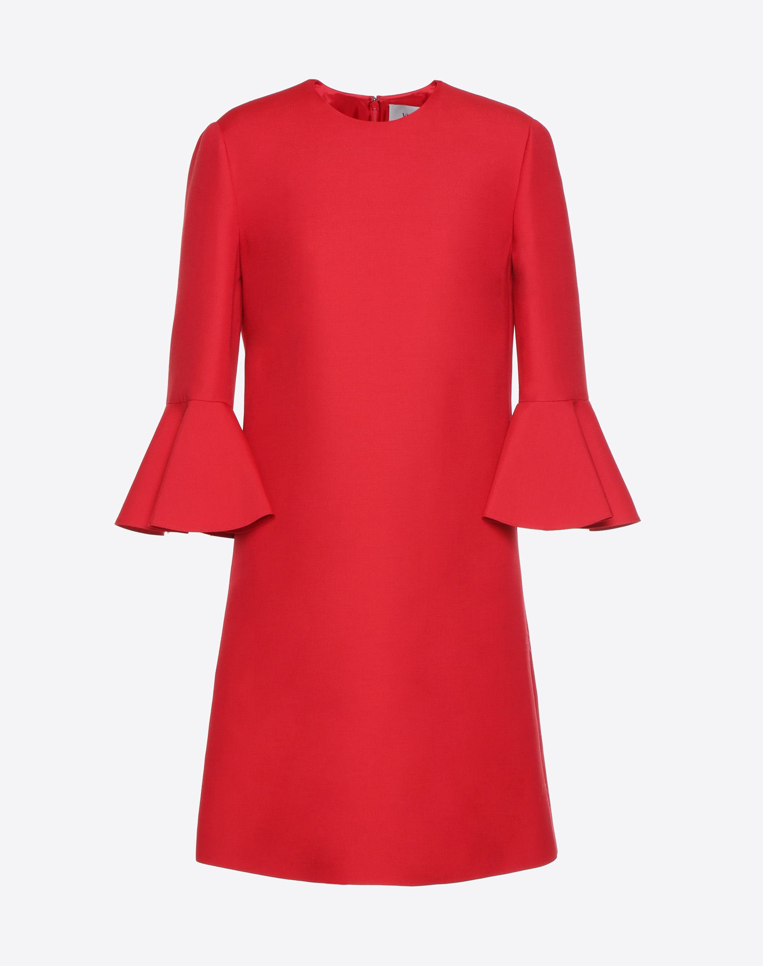 VALENTINO Crepe Couture dress Dress D f