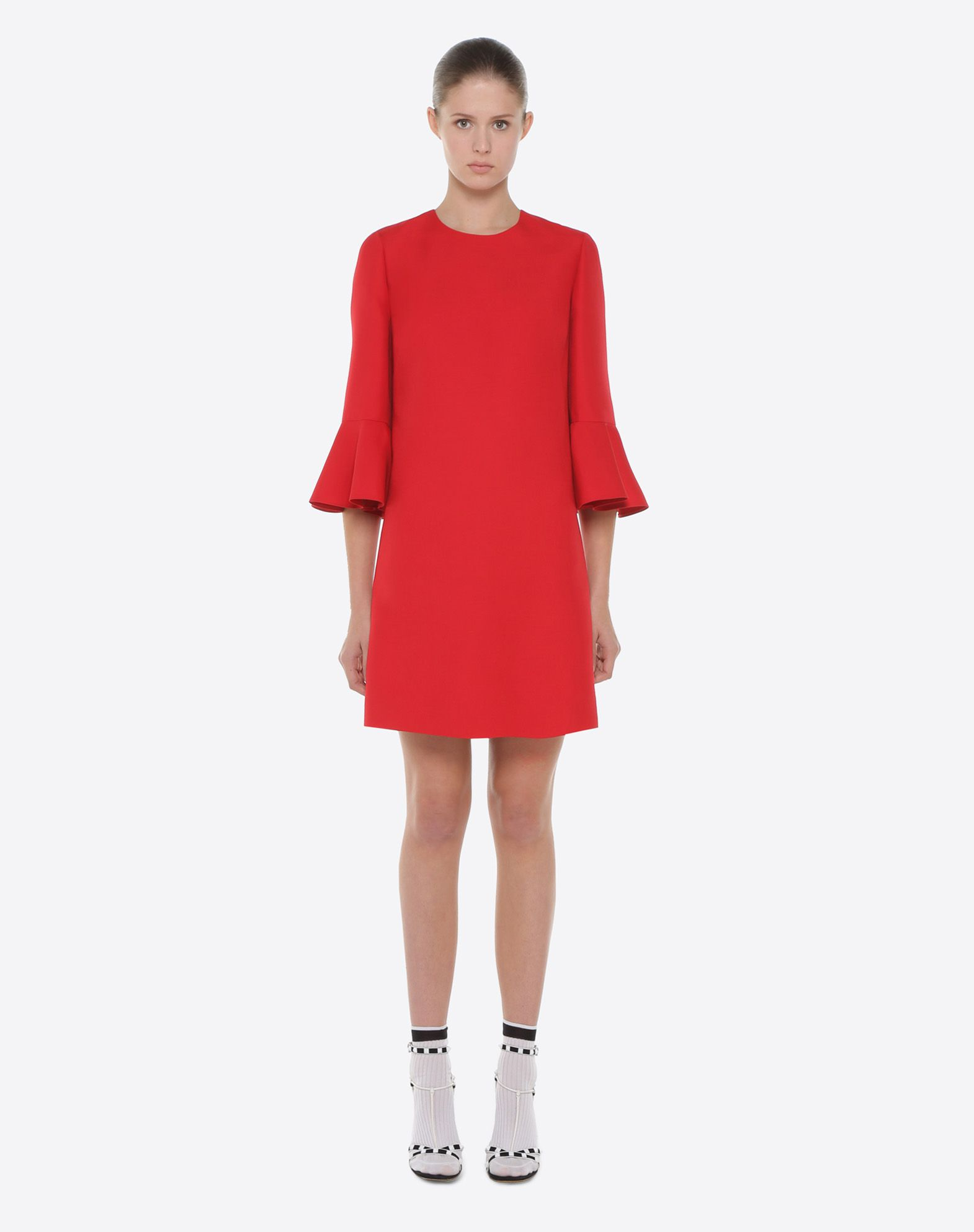 VALENTINO Crepe Couture dress Dress D r
