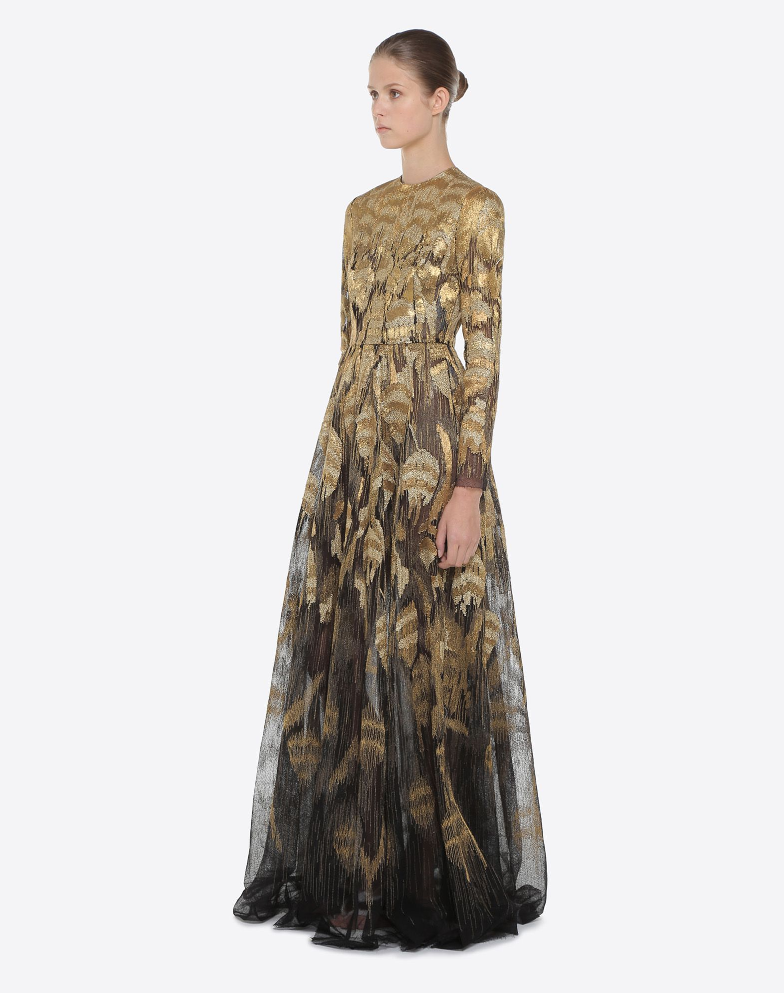 VALENTINO Embroidered evening dress Gown D d