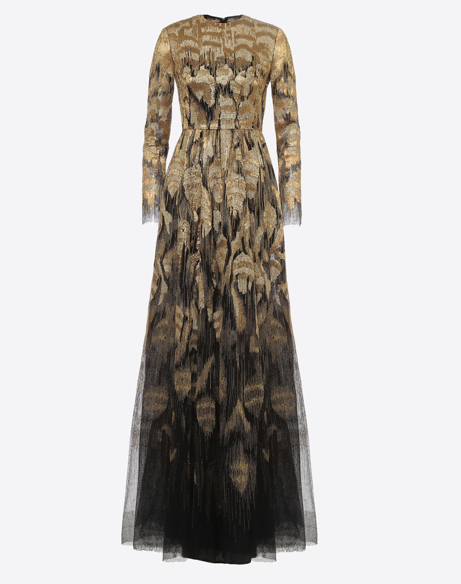 VALENTINO Embroidered evening dress Gown D f