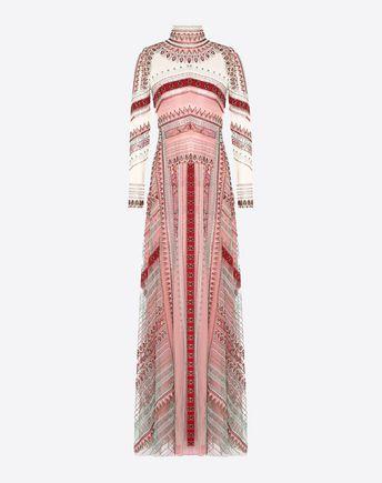 VALENTINO Gown D Intarsia Evening Dress  f