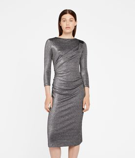 KARL LAGERFELD SPARKLING LUREX DRESS