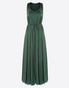VALENTINO Dress D Hammered satin dress f