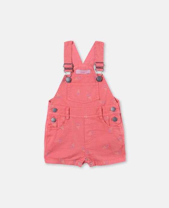 Chester Ice Cream Print Dungarees