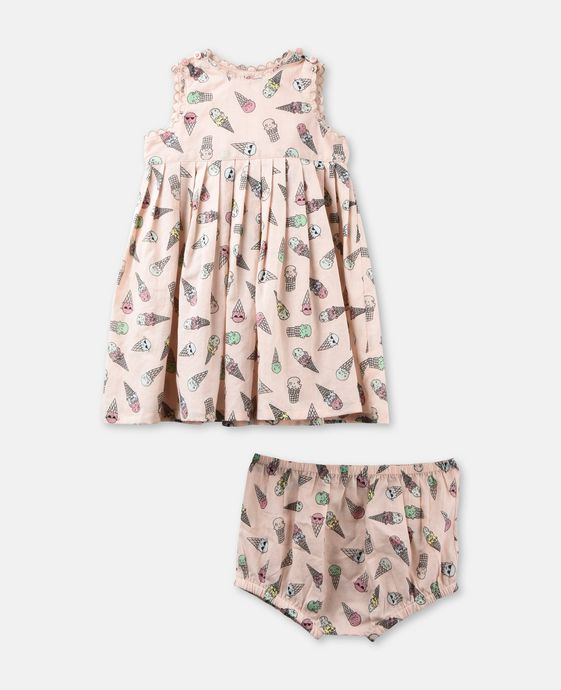 Flossie Dress Ice Cream
