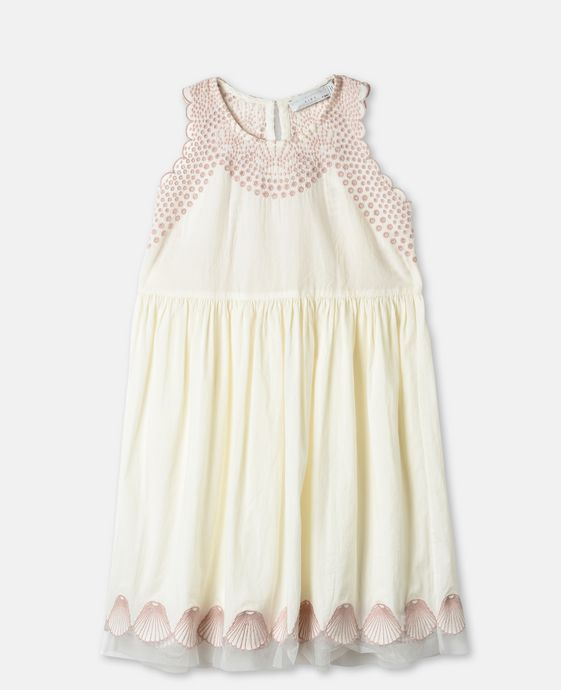 Bay Embroidery Dots Dress
