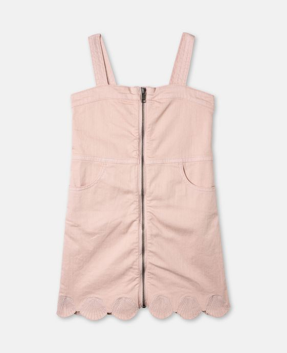 Bellflower Pink Zip Dress