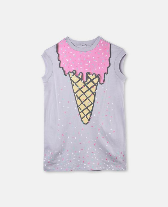 Jony Ice Cream Print Dress