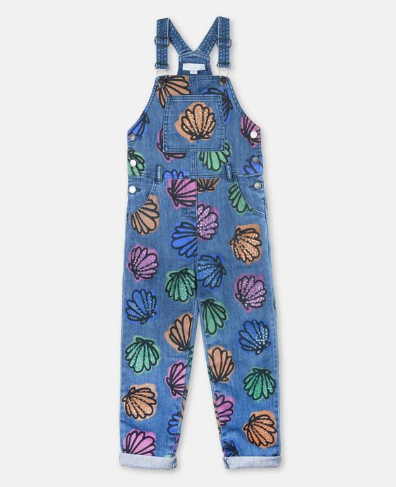 Rudy Shells & Sequins Dungarees