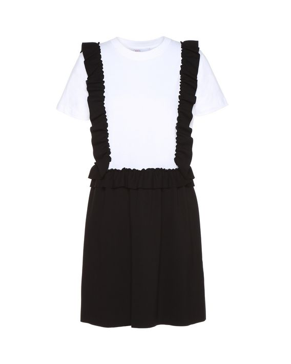 T Shirt Kleid Aus Jersey Mit Rüschen - Jerseykleid Für Sie ... b823204c5d